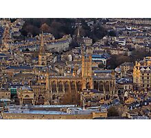 Bath Abbey From Above Photographic Print