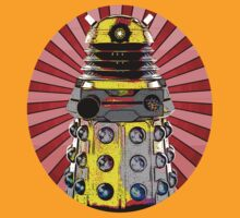 Cartoony Dalek by Sjoerd1201