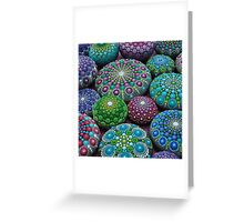 Mandala Stone Collection- Very Berry  Greeting Card