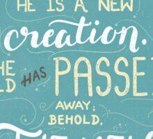 New Creation Sticker