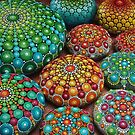 Mandala Stone Collection- Fire and Water by Elspeth McLean