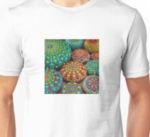 Mandala Stone Collection- Fire and Water Unisex T-Shirt