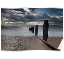Hayling Island Sea View Poster