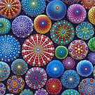 Mandala Stone Collection #3 by Elspeth McLean