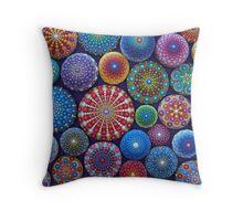 Mandala Stone Collection #3 Throw Pillow
