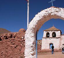 Goats cheese empanadas and the church by closho