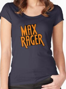 Max Rager (Stacked) - iZombie Women's Fitted Scoop T-Shirt