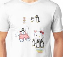 Mending Hello Kitty Unisex T-Shirt