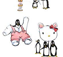 Mending Hello Kitty by Jean Rim