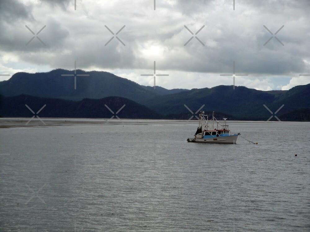 Boat Anchored at Dunganess by STHogan