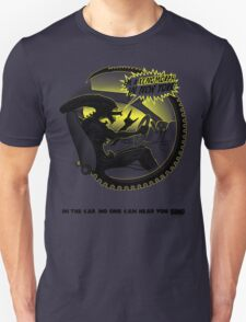 In the car no one can hear you sing. Unisex T-Shirt