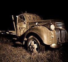 Grandpa's Old Chevy by Emma  Gilette