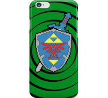 8-Bit Master Sword and Shield iPhone Case/Skin