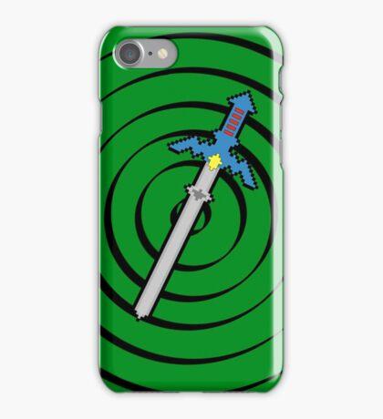 8-Bit Master Sword iPhone Case/Skin