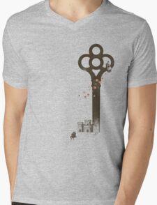 Chopin Mens V-Neck T-Shirt