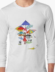 Rain in NYC Long Sleeve T-Shirt