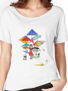 Rain in NYC Women's Relaxed Fit T-Shirt