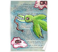 Bird with Zombie Worm Poster