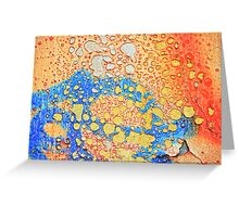 Weathered and peeling Greeting Card