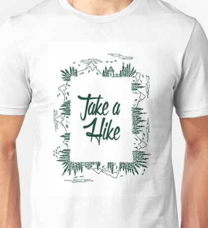 Mountain Hiking Unisex T-Shirt