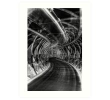 Bridge of iIlusions ( Infrared ) Art Print