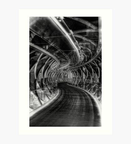 Bridge of iIlusions ( Infrared ) Art Print