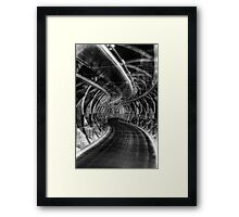 Bridge of iIlusions ( Infrared ) Framed Print