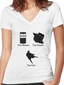 Sherlock Series 2 Women's Fitted V-Neck T-Shirt