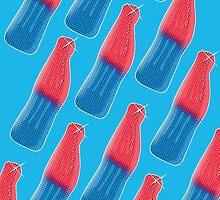 Fizzy Blue Bottles by Siegeworks .