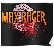 Max Rager Brains - iZombie Poster