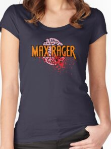 Max Rager Brains - iZombie Women's Fitted Scoop T-Shirt