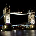 Tower Bridge at Night by DavidHornchurch