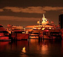 Marina Refelections by Stacy Reckard