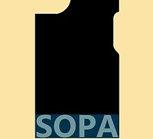 SOPA iphone case by kalitarios
