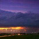 Sunset Strike by John  De Bord Photography