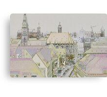 Nuremberg, Germany. Canvas Print