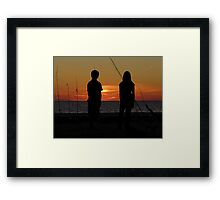 Farewell To The Day ~ Part Nineteen Framed Print