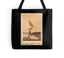 Benjamin K Edwards Collection Denny Lyons St Louis Browns baseball card portrait Tote Bag