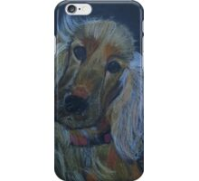 Clarence The Cocker Spaniel iPhone Case/Skin
