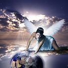 An Angel Watches Over Us by shall