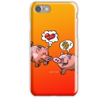 Money or Love? iPhone Case/Skin