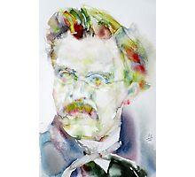 FRIEDRICH NIETZSCHE watercolor portrait.6 Photographic Print