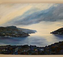 Dartmouth at Dusk by Eve Monteiro
