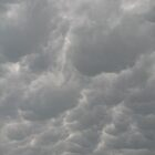 angry clouds (Mammatus clouds) by MaaikeDesign