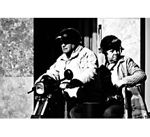 The Taxi ... Photographic Print