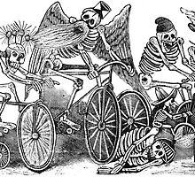 Muertas Bicicleta - Posada's Cycling Dead by Luna Mer