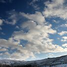 Winter Sky, Long Clough Brook, Glossop by Mark Smitham
