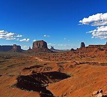 Monument Valley by David Pringle