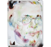 SARTRE - watercolor portrait.2 iPad Case/Skin