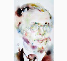 SARTRE - watercolor portrait.2 Unisex T-Shirt